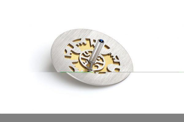 סביבון בעיצוב ייחודי ירושלים - זהב - עדי סידלר