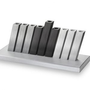 Kinetic Hanukkah Menorah – Bauhaus