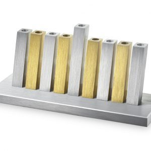 Kinetic Menorah – Golden