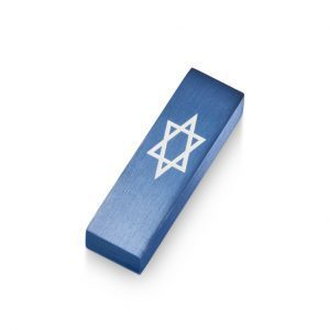 Car Mezuzah – Blue David's Shield