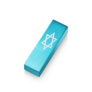 Car Mezuzah – Turquoise David's Shield