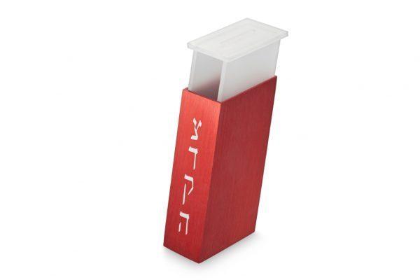 קופסת צדקה מלבנית בעיצוב חדשני - אדום